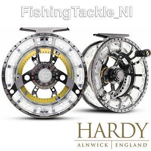 Hardy Ultralite ASR Disk Drag Cassette Fly Fishing Reel W/ 2 Spare Spools & Case