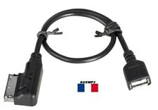 Cable usb Audi a1 a3 a4 a5 a6 a8 q1 q3 q5 q7 AMI MMI MDI adaptador usb 2g 3g