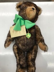 Hermann Old German Germany Plush Toy Brown Teddy Bear 1929 Replica 870/3000