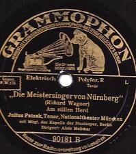 Julius Patzak singt Richard Wagner : Die Meistersinger von Nürnberg - Am stillen