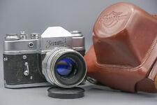 Zenit 3 Camera With Helios-44 2/58 Objektiv + Original Case