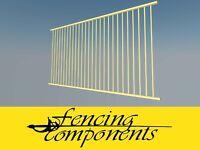 Certified Aluminium Pool Fence Panel 2400 x 1200mm Flat Top  PRIMROSE