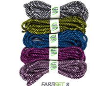 Paracord Starterset Armbänder Farbset 8 - 5x Bänder und Steckschnallen