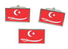 Aceh (Indonesia) Flag Cufflink and Tie Pin Set