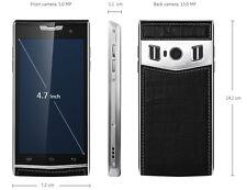 4.7 Pulgadas Marco De Metal De Lujo Elegante 4G Smartphone Dual 2 pantalla de estilo Vertu Sim