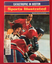 VINTAGE SPORTS ILLUSTRATED APRIL 26TH 1971 BOSTON BRUINS MONTREAL CANADIANS