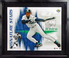 Ichiro Suzuki Autographed Signed Framed 16x20 Photo #10/100 UDA Holo #BAJ24212