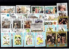 Lot Briefmarken stamps Laos o (974)