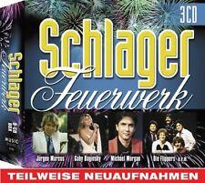 Schlager-Feuerwerk JÜRGEN MARCUS GABY BAGINSKY MICHAEL MORGAN HANS HARTZ 3CD