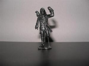 MPC Ringhand Pirate.  Long John Silver - Peg Leg and Parrot Black Plastic