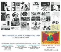 LED ZEPPELIN / TEXAS INTERNATIONAL POP FESTIVAL 1969 collector's edition 5CD