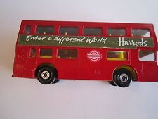 "1972 LESNEY LONDONER K-15 SUPER BUS MATCH BOX SUPER THINGS - 4 1/2"" X 2"" - BMA"