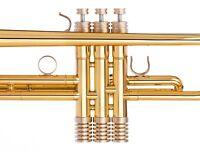 Yamaha Trumpet Trim Kit Radiator Caps. KGUBrass. Raw Brass. TKRR123