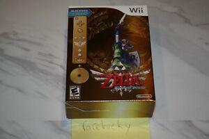 Legend of Skyward Sword Gold Remote Bundle (Wii) NEW SEALED NM, CASE FRESH RARE!