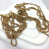 Art Deco Ball Bearing Necklace and Bracelet Vintage Machine Age Costume Jewelry