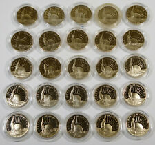 New listing 1986-S Proof Statue of Liberty Centennial Commemorative Half Dollars - 25 Coins