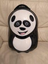 Panda picture hard wheelie case