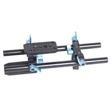 DSLR 15mm Rod Rail Support Baseplate for Follow Focus Rig Matte Box 5DII A14