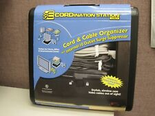 New Cordination Station Pro Cord and Cable Organizer - Black - DK170