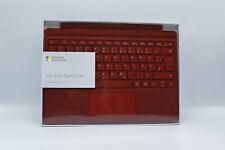 Microsoft Surface Pro Signature Type Cover QWERTZ Rot NEU OVP