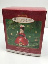 2001 Victorian Christmas New Vsdmg Box Hallmark Ornament Madame Alexander Candle