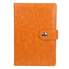 6''x9'' Silk Ribbon Synthetic Leather Weekly Monthly Daily Day Planner Notebook