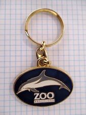 PORTE CLES VINTAGE DOLPHIN KEYCHAIN DAUPHIN BARCELONA ZOO BARCELONE