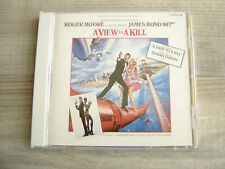 soundtrack CD movie*JAPAN* film80s JAMES BOND View To A Kill john barry DURAN NM