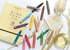 Rice Crayons  Made of Real Rice Wax Non-toxic Safe for Kids made in Japan