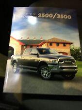 2016 Dodge Ram 2500/3500 42-page Original Sales Brochure