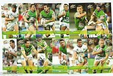 2008 Select NRL Champions RAIDERS Team Set (12 Cards)