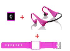Lenco pink mini Mp3 Player inkl. Bluetooth Kopfhörer 8GB 2557 UVP*=99€ USB
