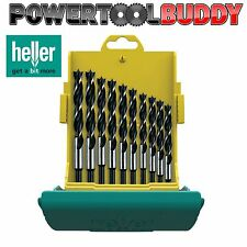 Heller 10pc CV Brad Point Wood Drill Bit Set 3mm -12mm High Quality German Tools
