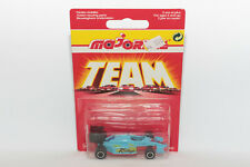 """1:55 F1 Racing """"Rallye"""" (1992) blau   Majorette No. 238   Modellauto PKW metal"""