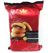 New ITALIAN Taste Cappuccino Chocolate Cream Filled Crispy Cookies 10 Pcs 4.2 oz