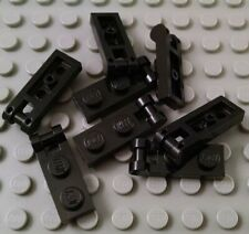 LEGO Creator Classic Lot of 8 Black 1x2 Bar End Plate Pieces