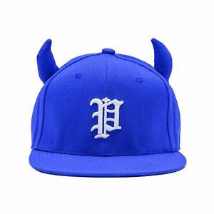 Horns SNAPBACK - Royal blue