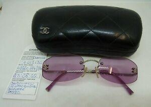 Chanel CC Rimless Sunglasses 4002c 124/76 Pink Lens   Thames Hospice