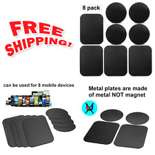8Pack Mount Metal Plate,Volport Universal for Magnetic Phone Car Holder Cradle !