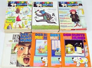 Der Bunte Hund Heft 1-54 (Heft 2 fehlt) Magazin für Kinder in den besten Jahren