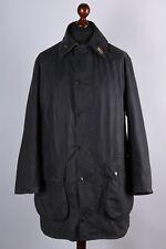 Barbour Border Vintage Waxed Jacket Size XL