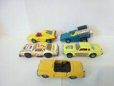 924-MATCHBOX LESNEY SUPERFAST LOT OF FIVE VEHICLES