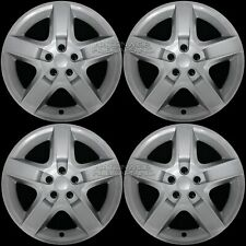 "17"" Silver Set of 4 Wheel Covers Full Rim Hub Caps fit R17 Tire & Steel Wheels"