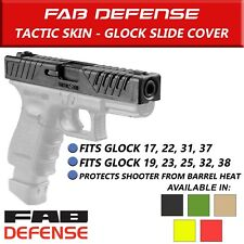Fab Defense Tactic Skin Slide Cover Glock Handgun Pistol 17 19 22 23 31 32 38