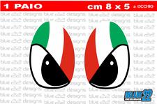 ADESIVI AUTO MOTO CASCO  EYES ITALIA STICKERS KTM SCOOTER YAMAHA MOTOCROSS 4x4