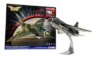 AA28403 1:48th Lightning F.6- XS904 / BQ- RAF No.11 Sqd, Binbrook, 1987 - Corgi