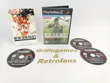 """Sony Playstation 2 Spiel """" Metal Gear Solid 3 Subsistence """"