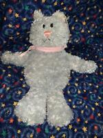 "Mini Sugar Sacks the Gray CAT 10"" Beanbag Decor Plush Toy by Gund Home #60044"