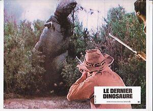 Photo d'exploitation. Le dernier dinosaure. Tirage original (41/34)