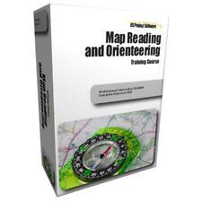 Lettura della mappa e terreni mappe di navigazione formazione Learning Corso di guida
